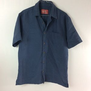N6 Woody's Retro Lounge S/S Button Down M